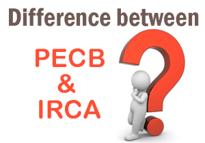 Difference between PECB and IRCA