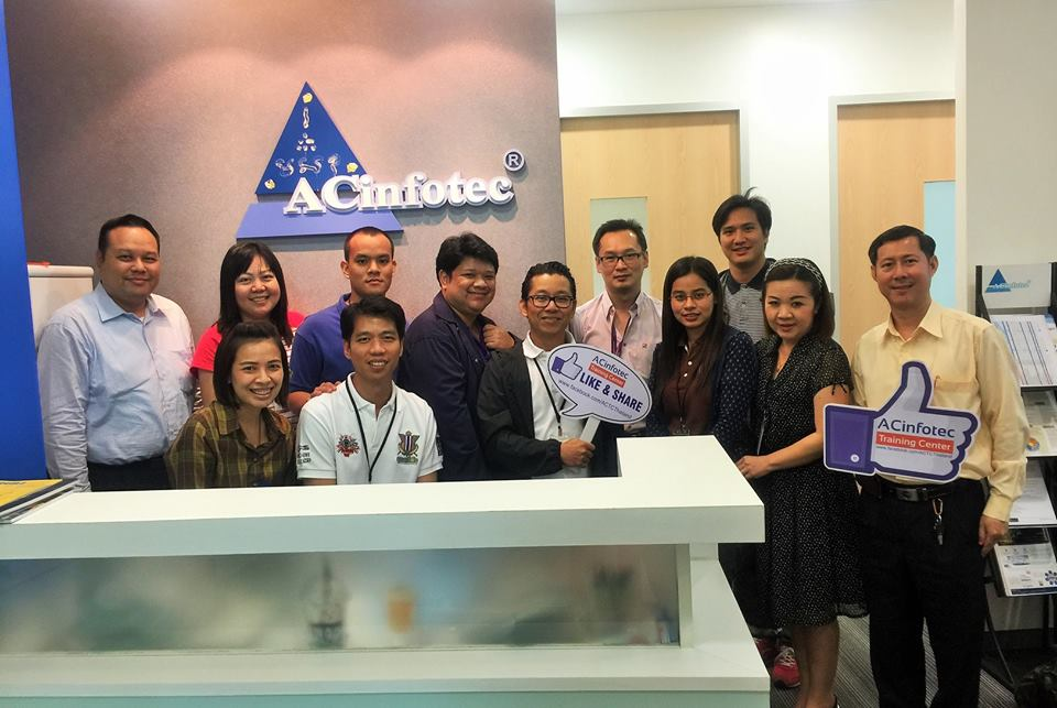 ACinfotec จัดอบรมหลักสูตร PECB Certified ISO 27001:2013 Lead Auditor