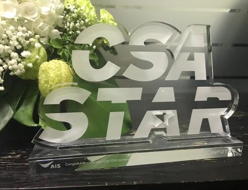 AIS ก้าวขึ้นเป็นผู้นำอีกขั้นในการให้บริการระบบ Cloud ที่ปลอดภัย จากการได้รับมาตรฐาน CSA-STAR Certification